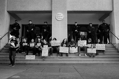 Oakland Support SB54 Sit In - 08/16/2017