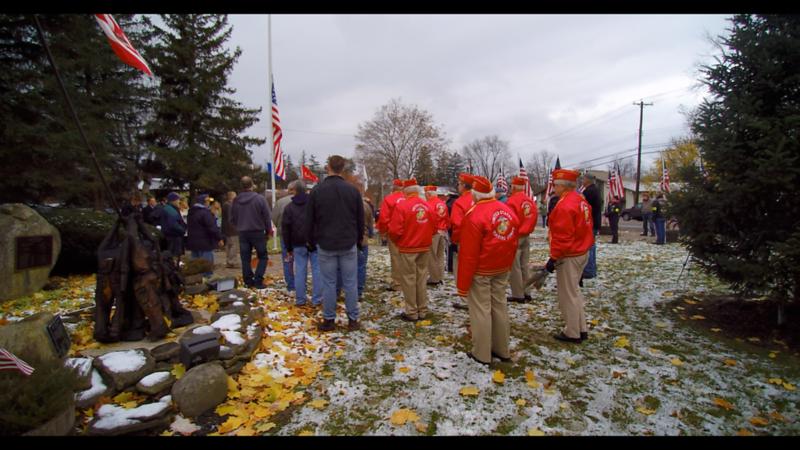 USMC LCpl Mark Beyers Home Dedication