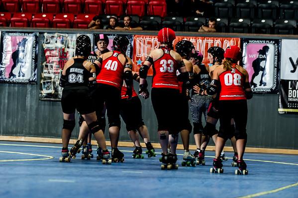 G5 - London Rollergirls vs. Detroit Derby Girls