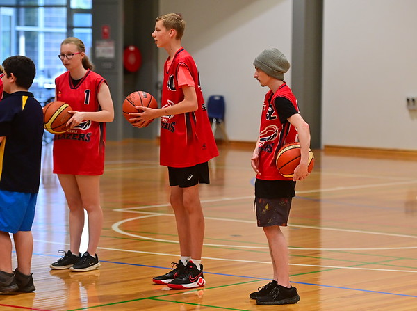Berri Blazers Basketball Disability Program