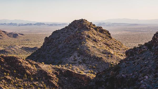 The White Tank Mountains