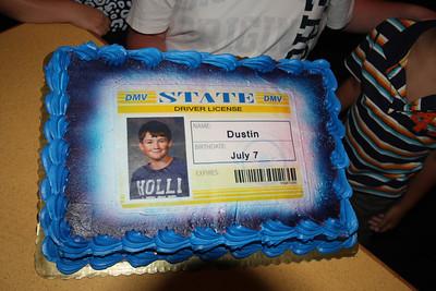 Dustin 16 B-Day