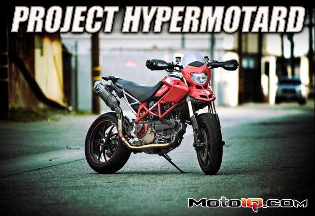 Project Ducati Hypermotoard