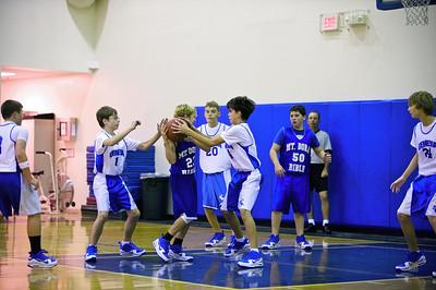 7th/8th Grade Basketball vs. MDB, December 14, 2009