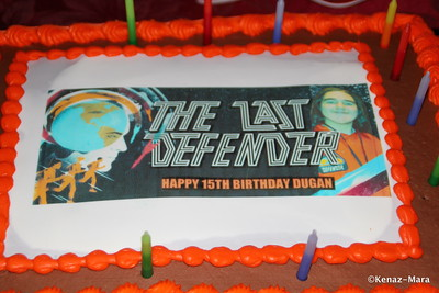 The Last Defender Birthday Party