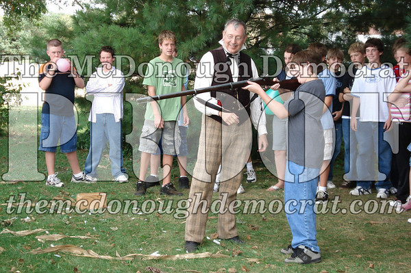 JH Social Studies Shoots Civil War Rifle