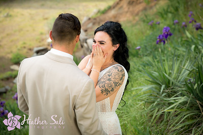 Kenna and Jordan~Stylized Wedding Shoot at Maven's Haven in Lucille, Idaho