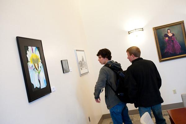 Rhoads Hall Art Gallery Reception