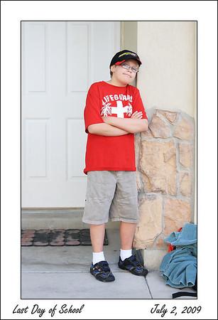Last Day of School - July 2, 2009