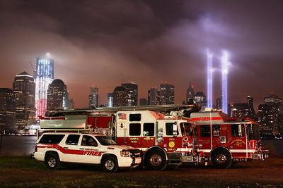 September 11, 2011 Tribute of light & Apparatus