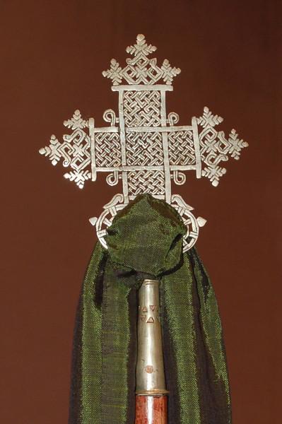 An antique cross.