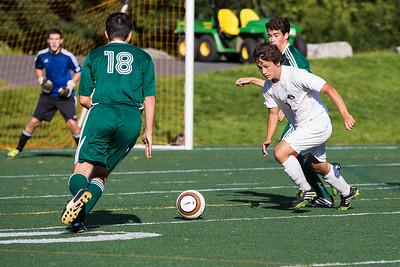 Hanover Boys Soccer vs BG