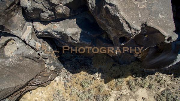 08/06/16 Fossil Falls Ca Drone View