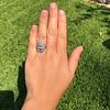 1.75ctw Edwardian Toi et Moi Old European Cut Diamond Ring  58
