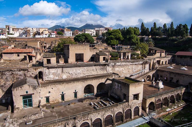 Herculaneum and Mount Vesuvius