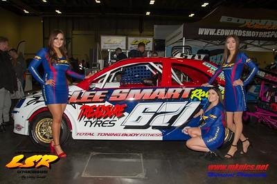 Lee Smart Racing Grid Girls at MWA