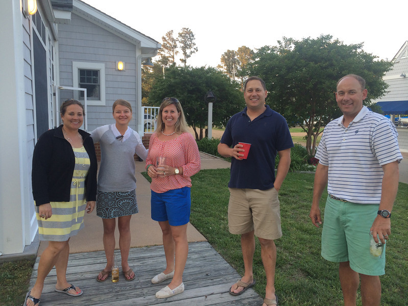 5/23 FBYC Young Adult Member & Guest Cookout Julie Ann Wash, Katie Branch Allison Whittemore, Paul Wash, Rob Whittemore