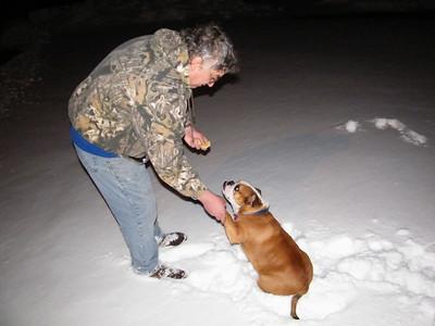 Snow Storm, Mantzville (2-26-2010)