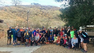 Singletrack Stampede training run 1-27-2018
