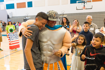 Pebble Hills Military Surprise