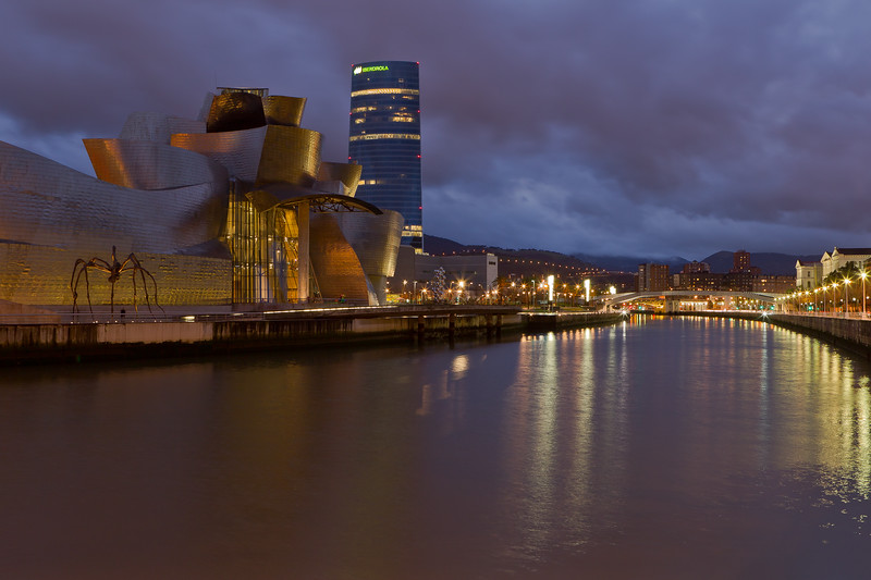 Guggenheim Museum, Bilbao. Biscay, Basque Country, Spain.