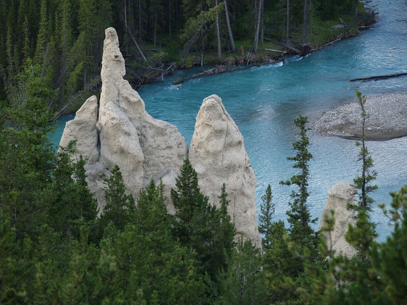 Hoodoos on the Bow RIver (2006)