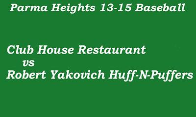170707 Parma Heights Boy's 13-15 Baseball