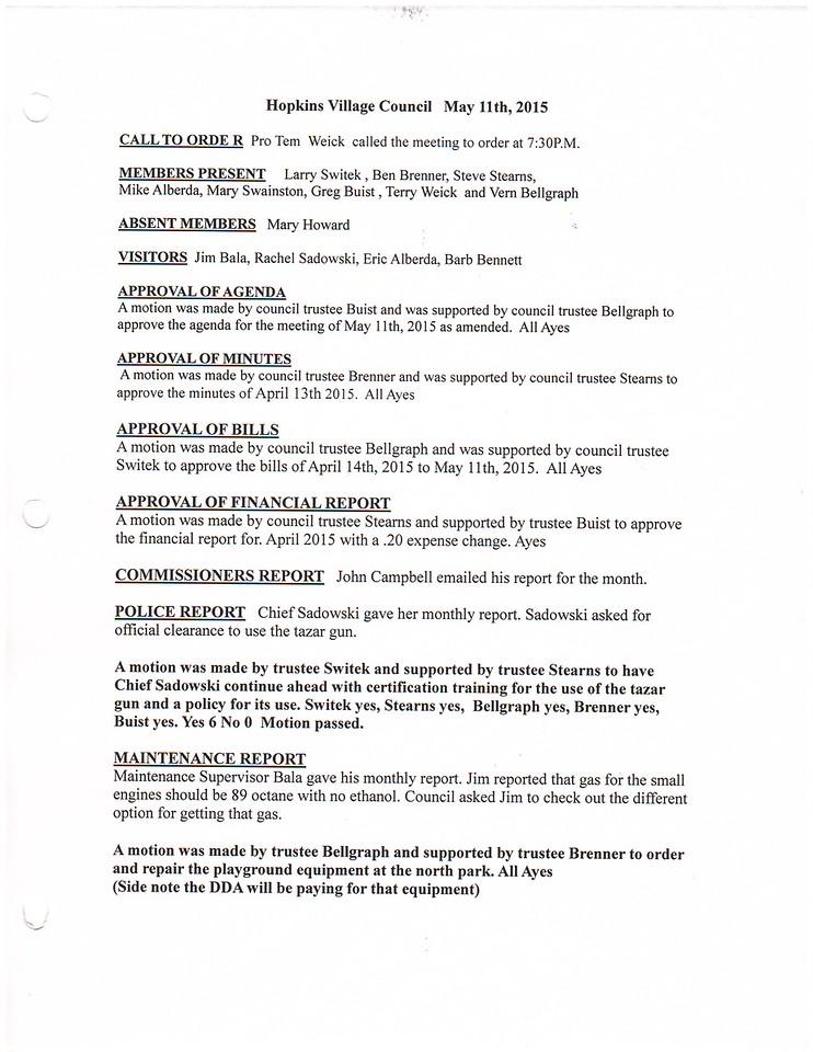 May 2015 Meeting Minutes pg 1