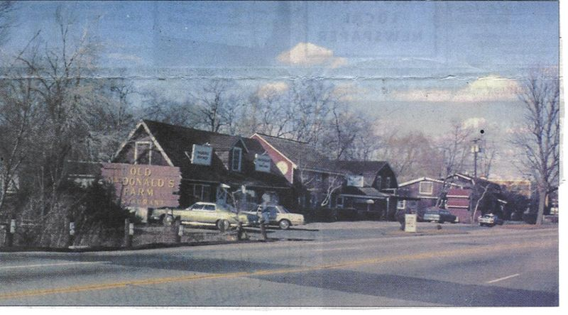 """Old MacDonald's Farm, Post Rd, Norwalk, CT- """"The farm consisted of a restaurant, general store, candy shop, bakery and in the rear, a large petting zoo and amusement park""""- Darien Times, May 5, 2005, Photo courtesy of Tom Kessel"""