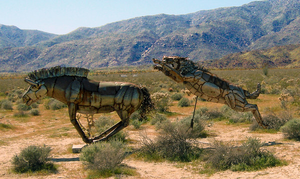 Borrego Springs Desert Art - March, 2009