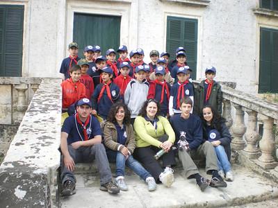 Easter Camp 2009 - Verdala Castle