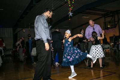 Galaxy Gala Dance Floor