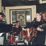 Melissa and Bernie Playing at Kaps
