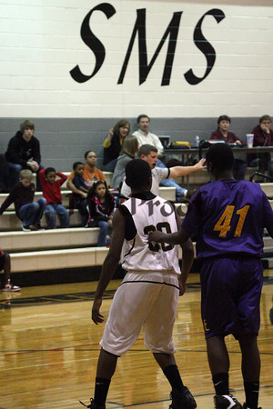 Smith Middle School vs Everman Jan 6, 2011