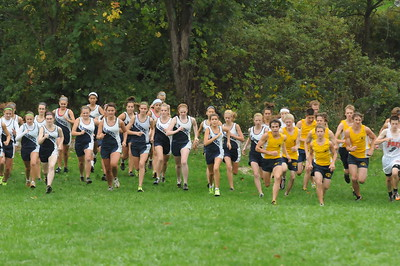 2010 McDowell Cross Country Dual Meets