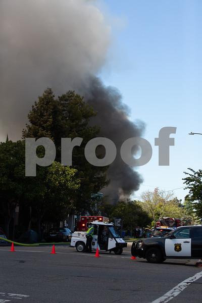 Berkeley Fire - Blake Street 2020