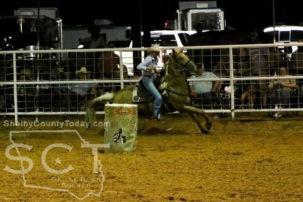 2021 Shelby County Stampede Barrel Racing