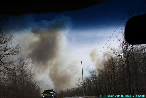 Wildfire, Wright Twp. 4/7/10
