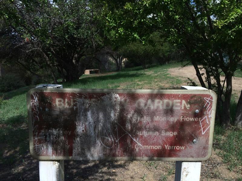 2014, Butterfly Garden Sign