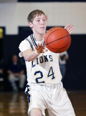 2014 District IX A Boys Basketball Consolation Johnsonburg vs. Clarion-Limestone