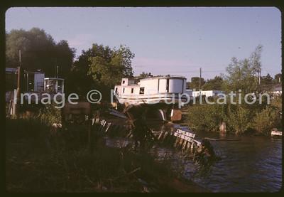 1977: BAYFIELD WI BOATS GRAVEYARD