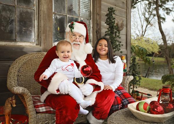 Kelcie Michaud Santa 2020