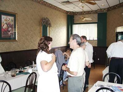 John Marciano Farewell Party  8-24-2000