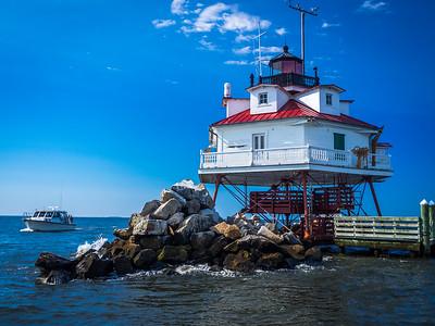 Annapolis:  Thomas Pt. Shoal Lighthouse