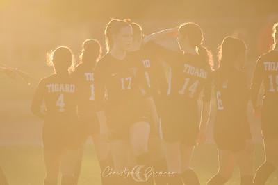 THS Girls Varsity Soccer vs Wilsonville
