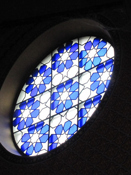 35-Rumbach Synagogue, SE window. See aerial view, image 30.