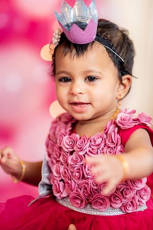 Megha-1st-Birthday