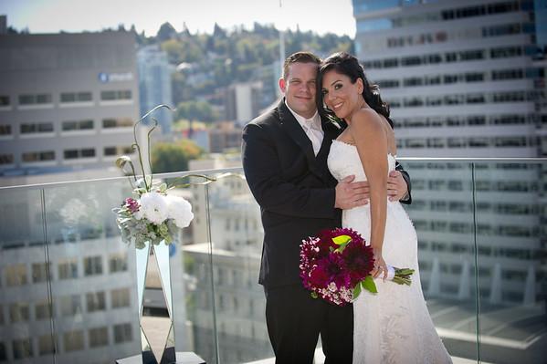Jenna & Jon,  Sept. 19, 2015,  The Nines Hotel