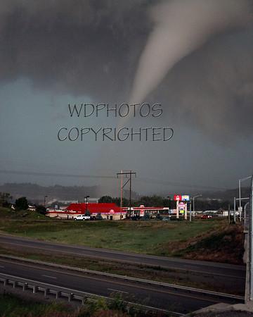 Tornado hits Billings 6/20/2010