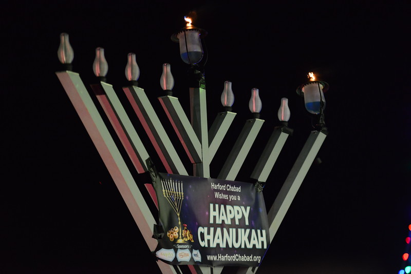 Menorah Lighting - Dec 2017